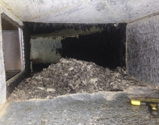 Ductwork Cleaning Before and After-2